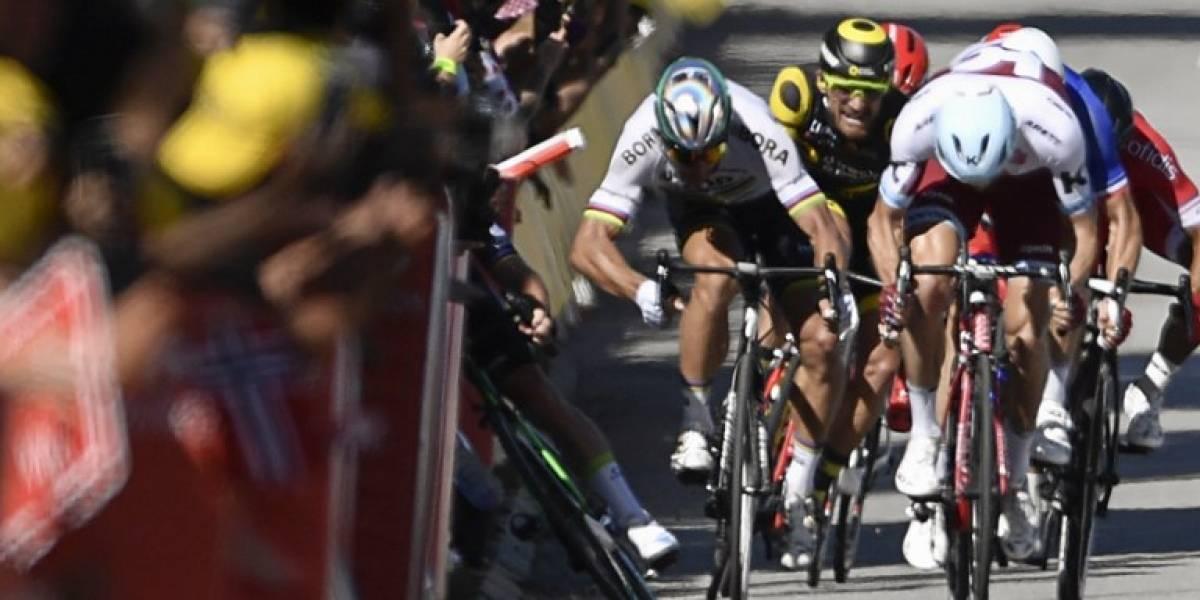 VIDEO. Peter Sagan, expulsado del Tour de France por este codazo