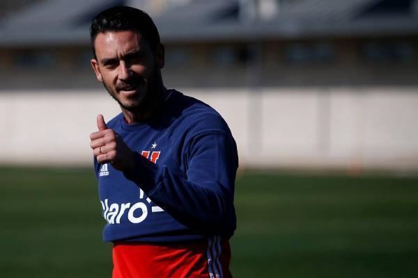 Mauricio Pinilla es el refuerzo estrella de la U / imagen: Photosport
