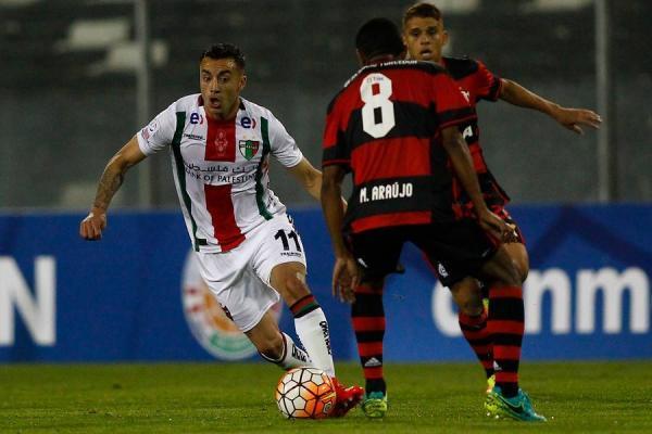 Cereceda es de los pocos que se mantienen con vida del equipo que eliminó a Flamengo en 2016 / imagen: Photosport