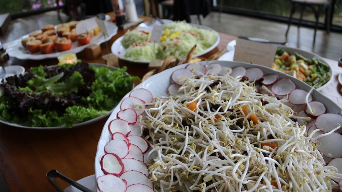 Saladas são tão saborosas que não praticamente não precisam ser temperadas | Eliane Quinalia