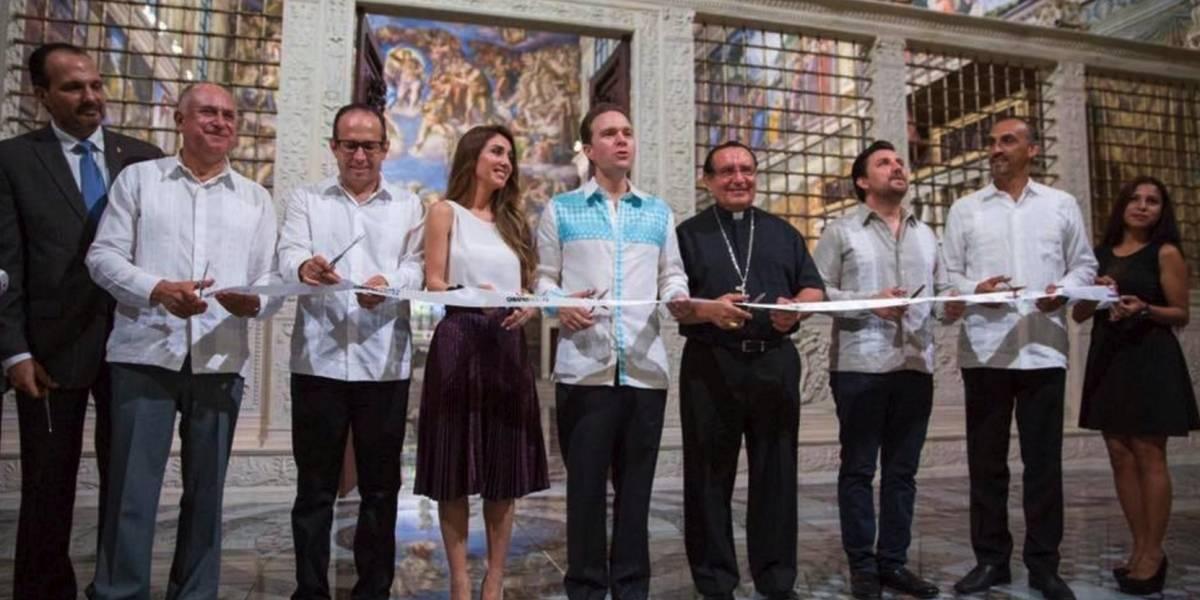 Inauguran réplica de La Capilla Sixtina en Chiapas