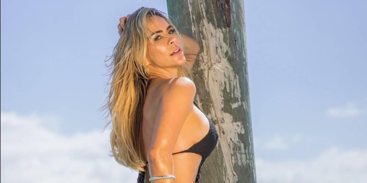 Critican en redes sociales a Aylín Mujica por foto en bikini