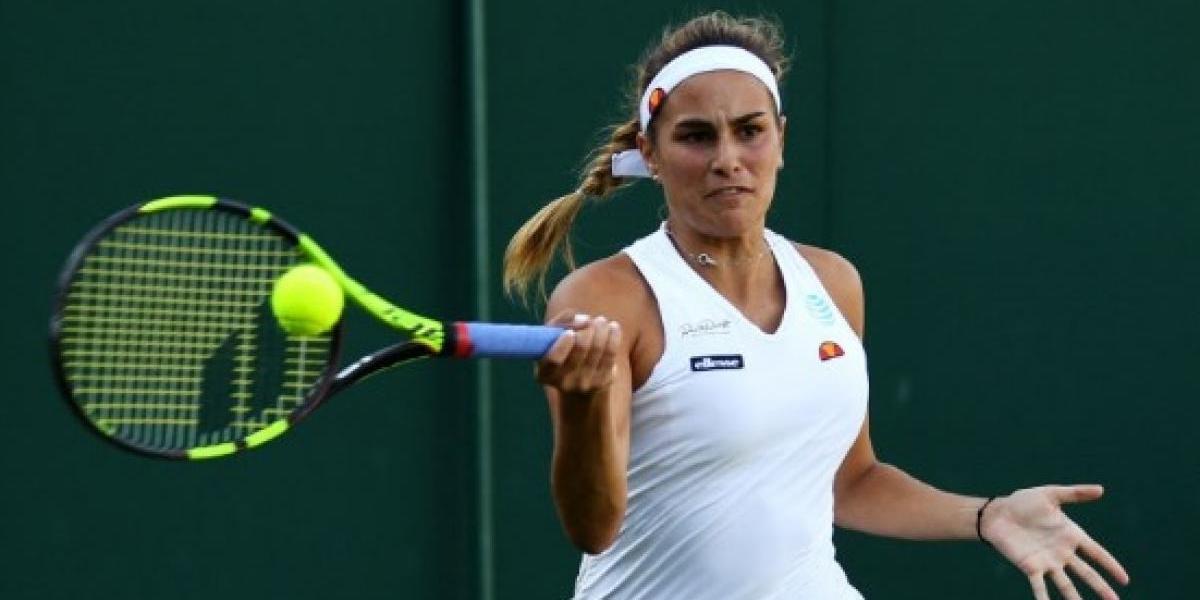 Cae Mónica Puig en la primera ronda de Wimbledon