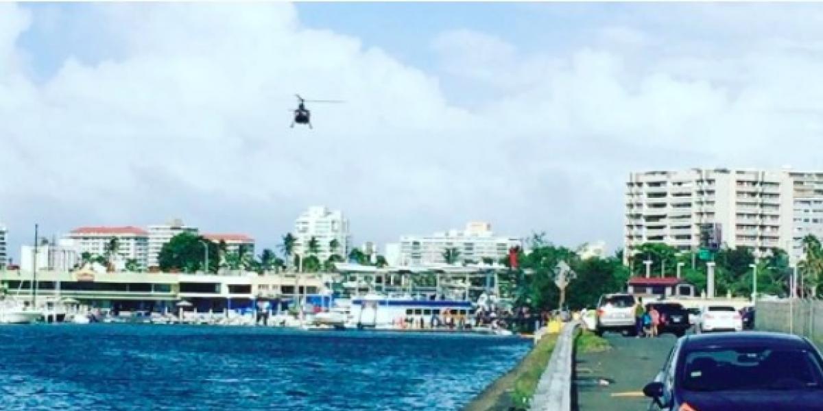 Cae avioneta en aguas de la marina de San Juan