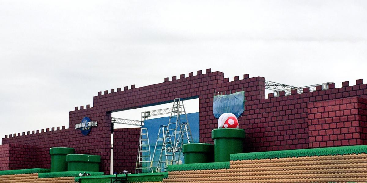 Así avanza Super Nintendo World en Universal Studios
