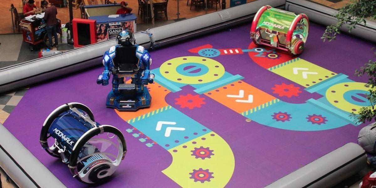 Disfruta de una gran aventura a bordo de robots gigantes