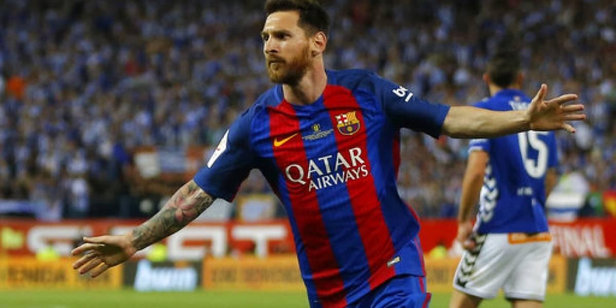 Messi renueva contrato con el Barcelona hasta 2021