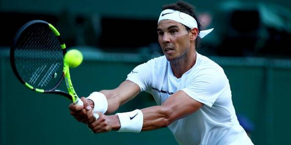 Murray y Nadal caminan seguros en Wimbledon