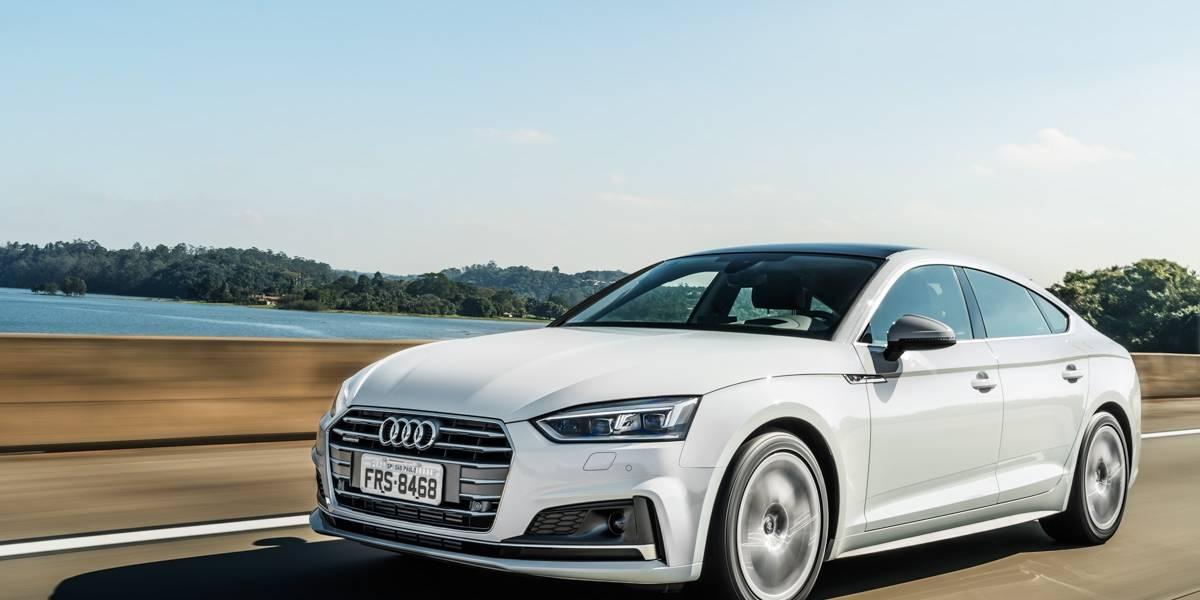 Audi A5 fica maior, mais confortável e ganha sistemas de condução especial