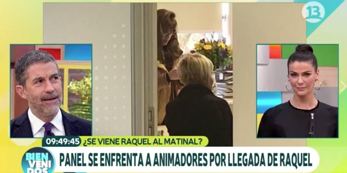 """Así se prepara """"Bienvenidos"""" para la llegada de Raquel Argandoña"""