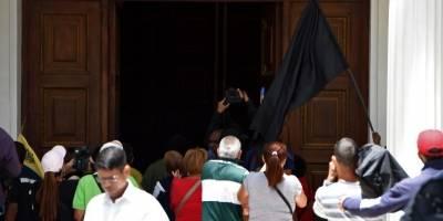 Atacan Parlamento de Venezuela