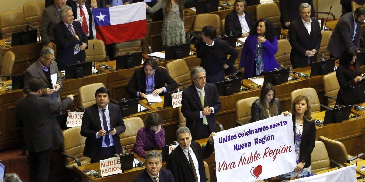 Cámara Baja aprueba y despacha proyecto que crea la Región de Ñuble