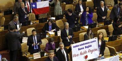 Diputados chilenos aprueban proyecto para crear una nueva región en el país