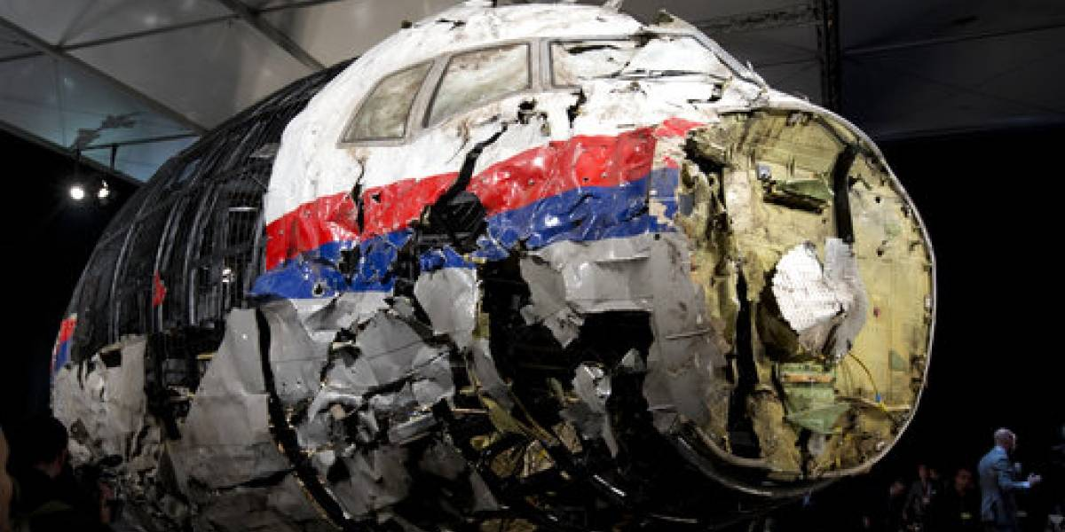 Juzgarán en Holanda a acusados derribar avión en Ucrania