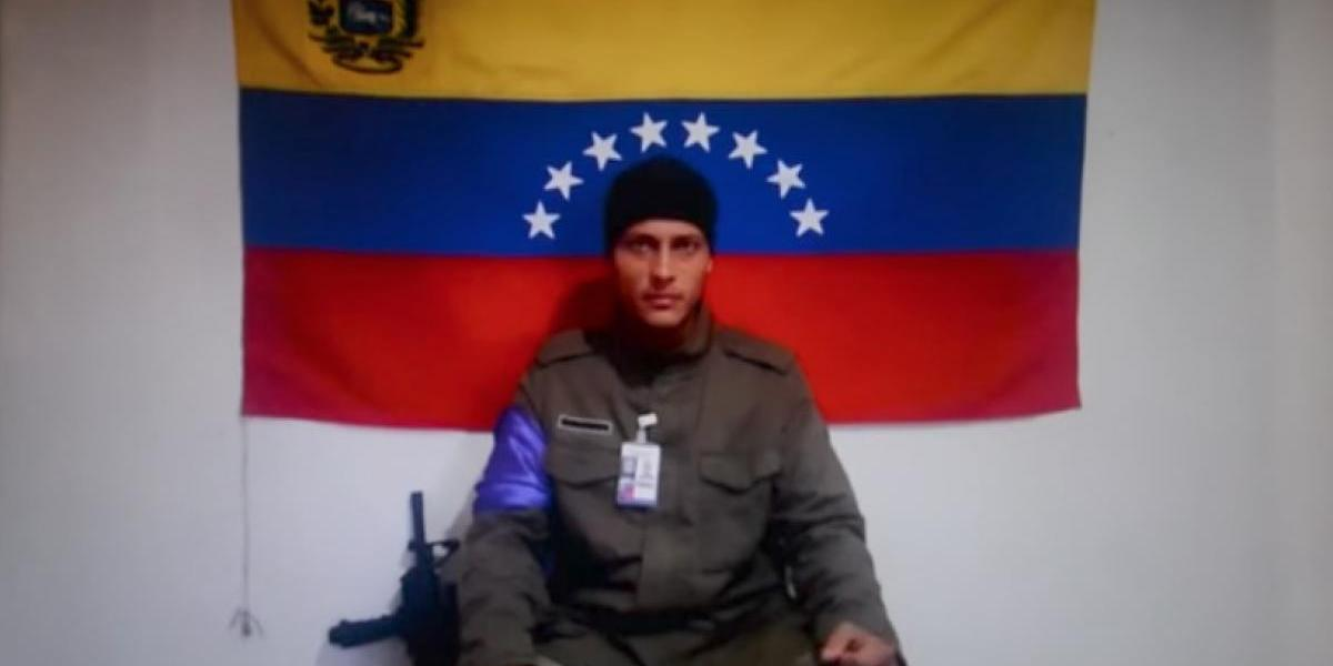 'La lucha por la liberación de la patria continuará': piloto en Venezuela