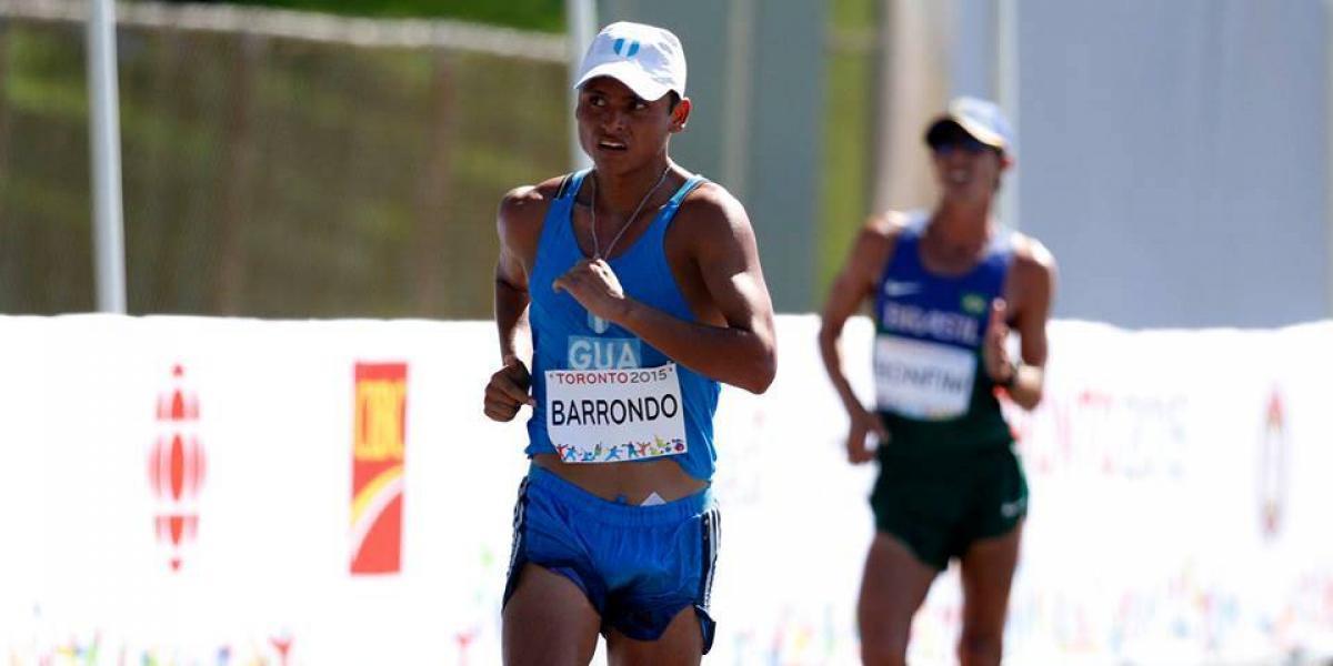 Erick Barrondo participará en la Liga Diamante de la IAAF en Londres
