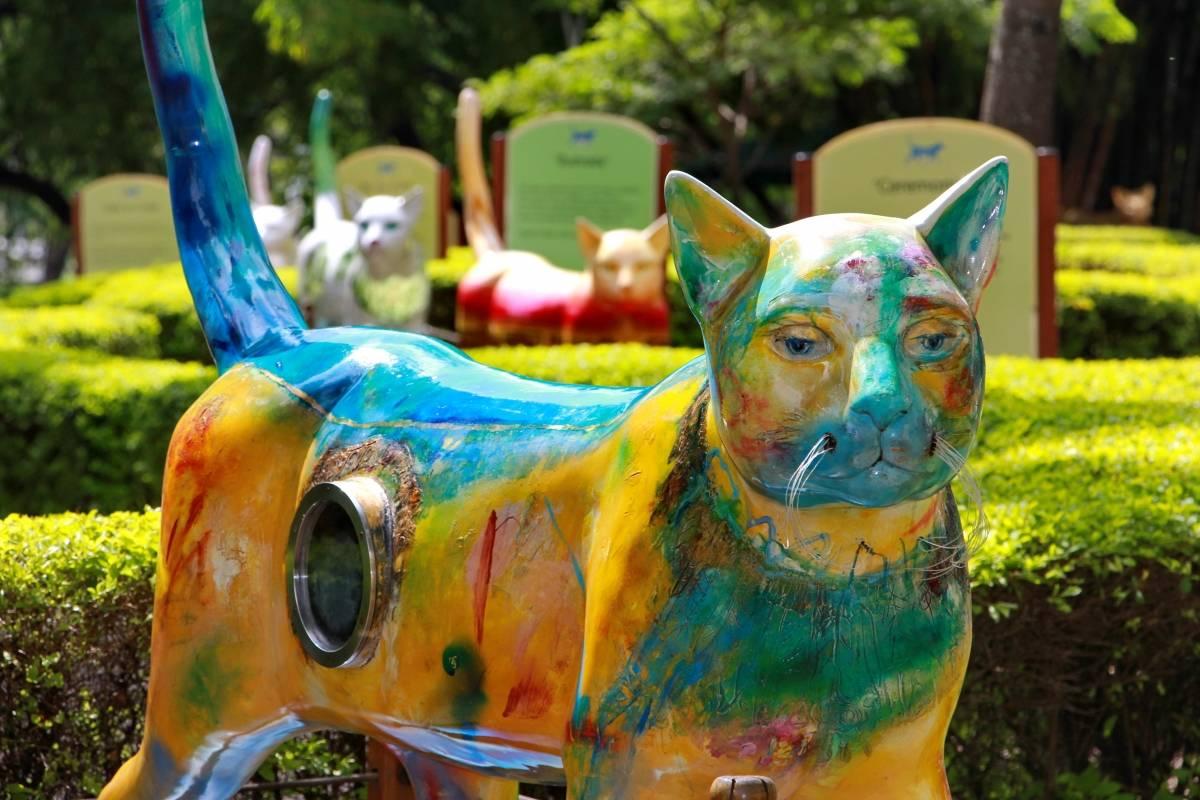 El Gato del Río ha perdido protagonismo con la presencia de sus novias. Se trata de 16 esculturas hechas por distintos artistas del país que le dan más color y coquetería al lugar en el que se encuentra la reconocida obra de Hernando Tejada.