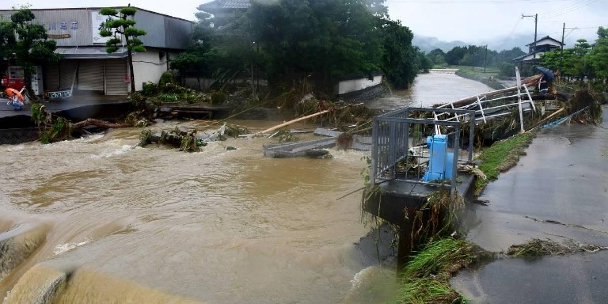 EN IMÁGENES. Inundaciones dejan 15 desaparecidos en el sur de Japón