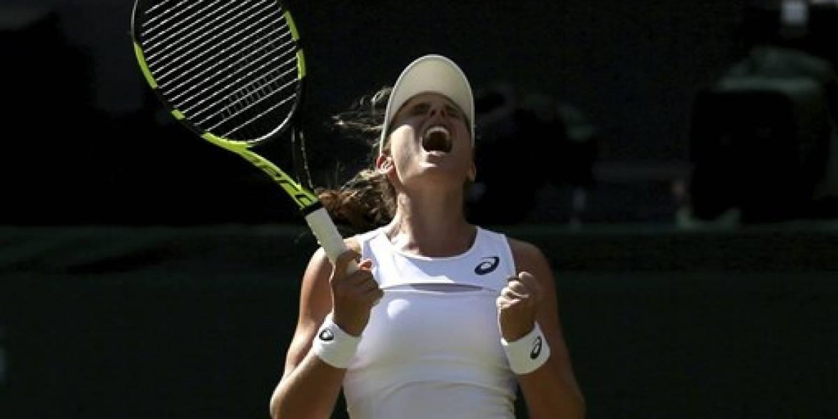 Johanna Konta avanza a tercera ronda en Wimbledon