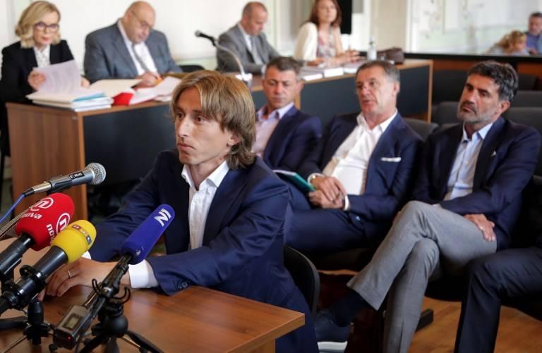 Luka Modric declara ante tribunal