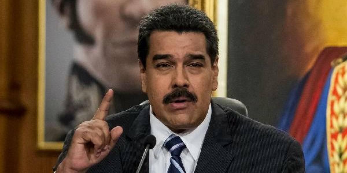 Nicolás Maduro: 'Han dado la orden de asesinar al presidente de Venezuela'