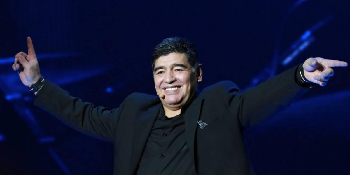 Maradona ya no solo es argentino, ahora también es napolitano