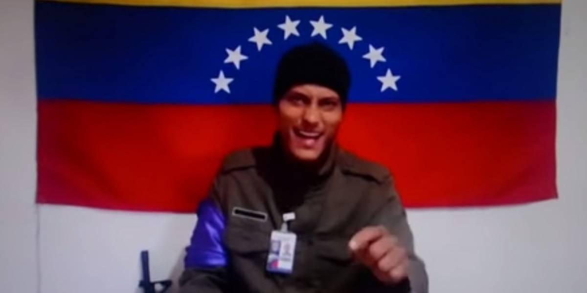 VIDEO. Reaparece el piloto que atacó el Tribunal Supremo de Venezuela