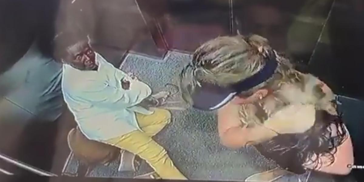 Un ataque de un perro en un ascensor terminó en pelea entre dueños de mascotas