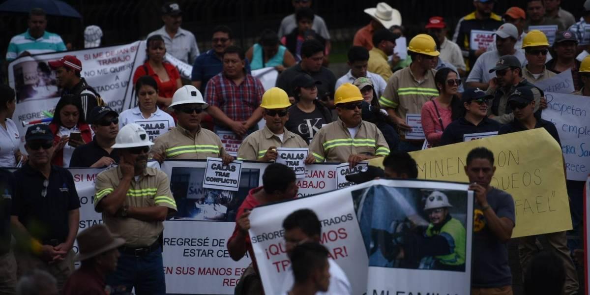 Magistrados ordenan suspender actividad de mina San Rafael