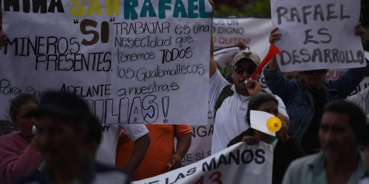 Se anuncia manifestación de exempleados de la Minera San Rafael