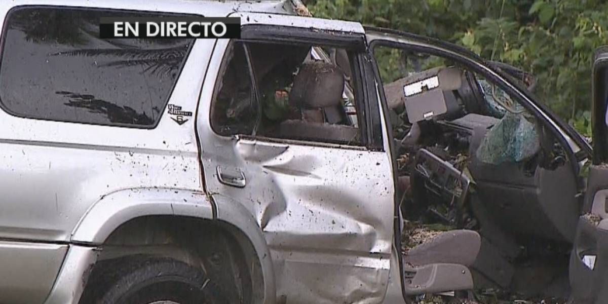 Reabren carretera en Dorado tras accidente fatal