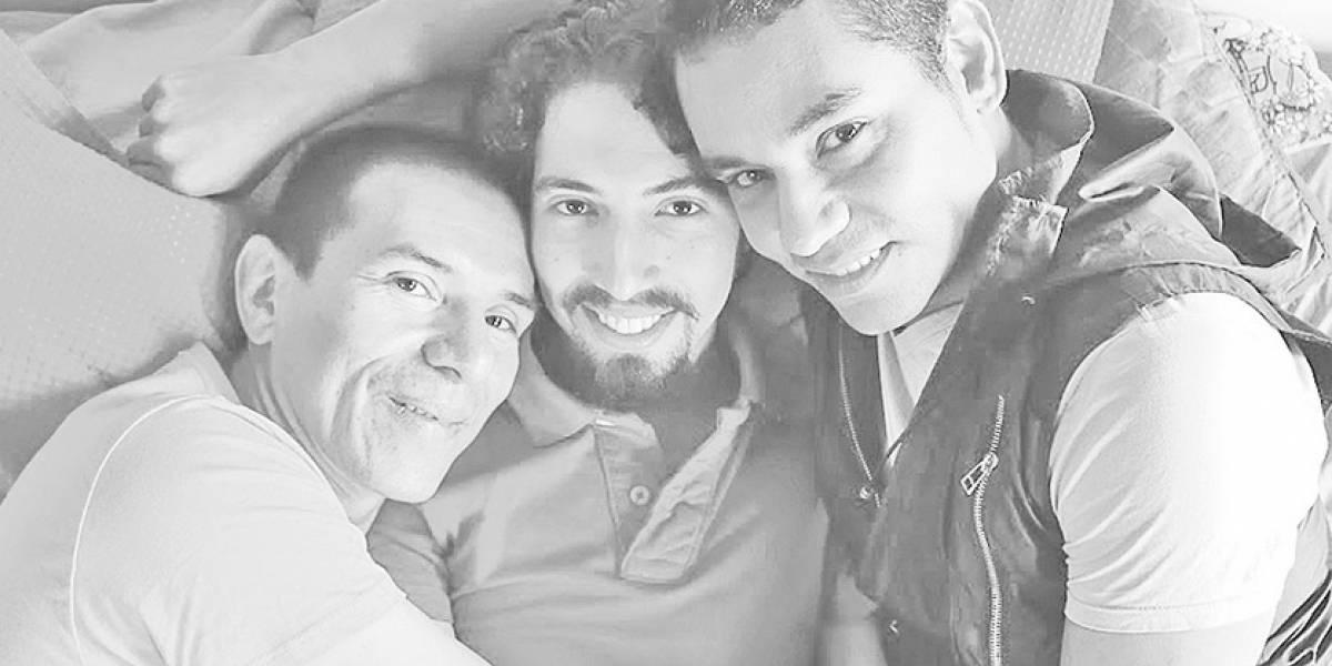 Hablan los hombres que componen primera trieja legal en Colombia