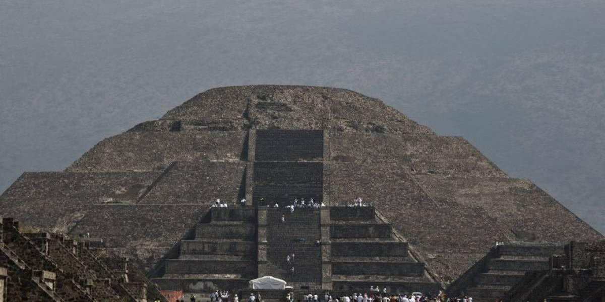 """Descubren el """"inframundo"""" en pirámide de Teotihuacan en México"""