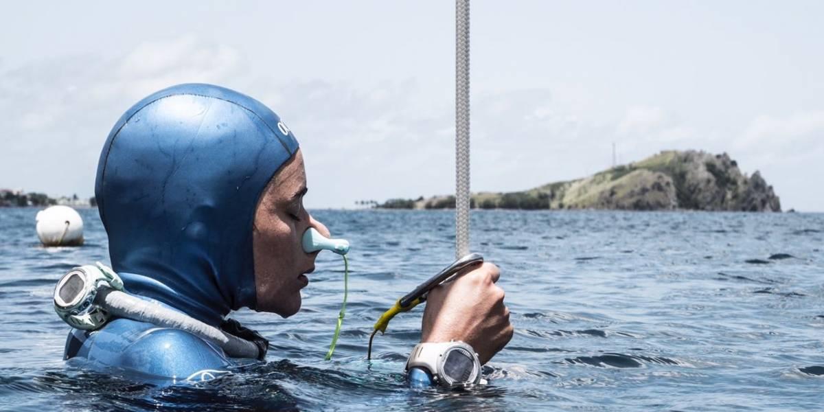 Sofía Gómez Uribe es récord mundial de inmersión en apnea