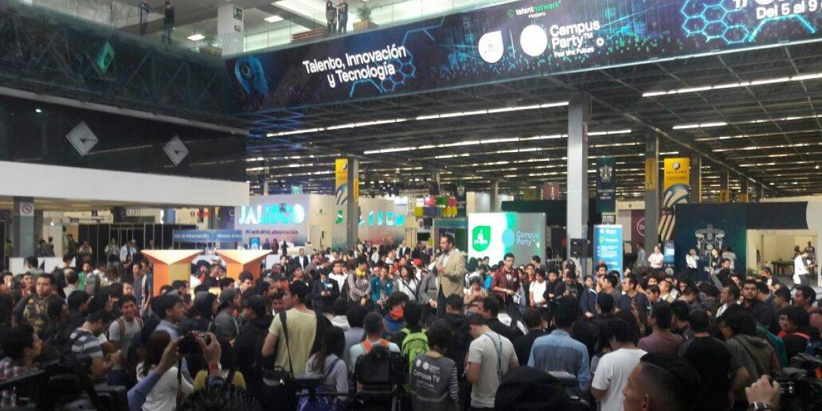 10 eventos imperdibles en este Jalisco Campus Party 2017