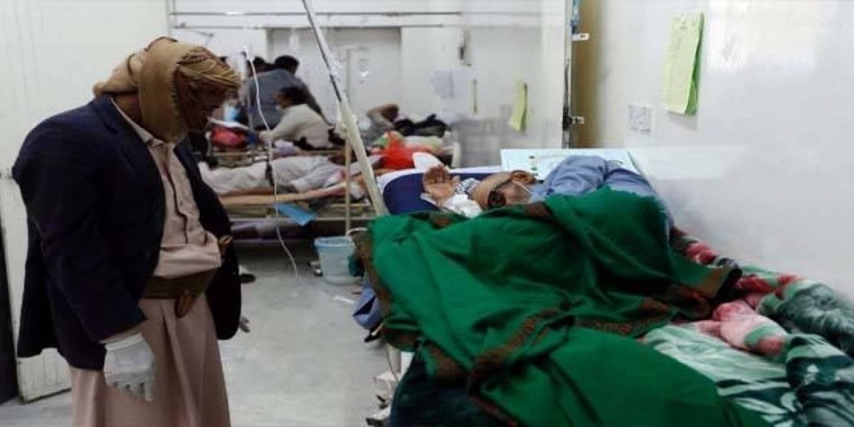 ONU: más de 1,600 muertos por brote de cólera en Yemen