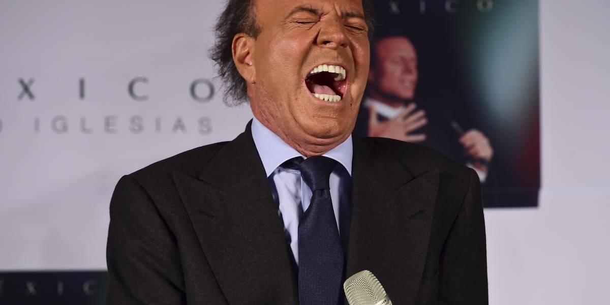 Prueba paternidad señala que Julio Iglesias tiene un hijo secreto de 40 años