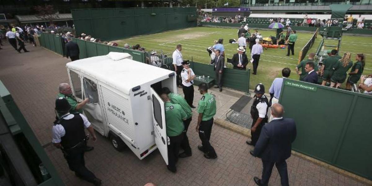 Minutos de horror en Wimbledon: los gritos de dolor de Mattek-Sands conmocionaron al mundo