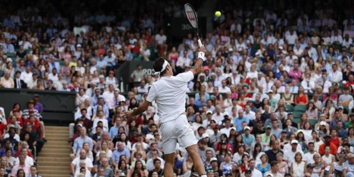 Roger Federer ni se despeinó para avanzar a tercera ronda en Wimbledon