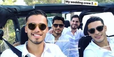 La boda de Memo Ochoa