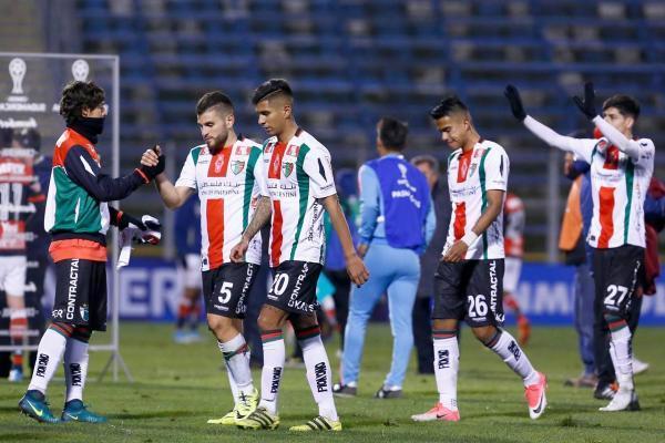 Palestino no pudo con Flamengo / imagen: Agencia UNO