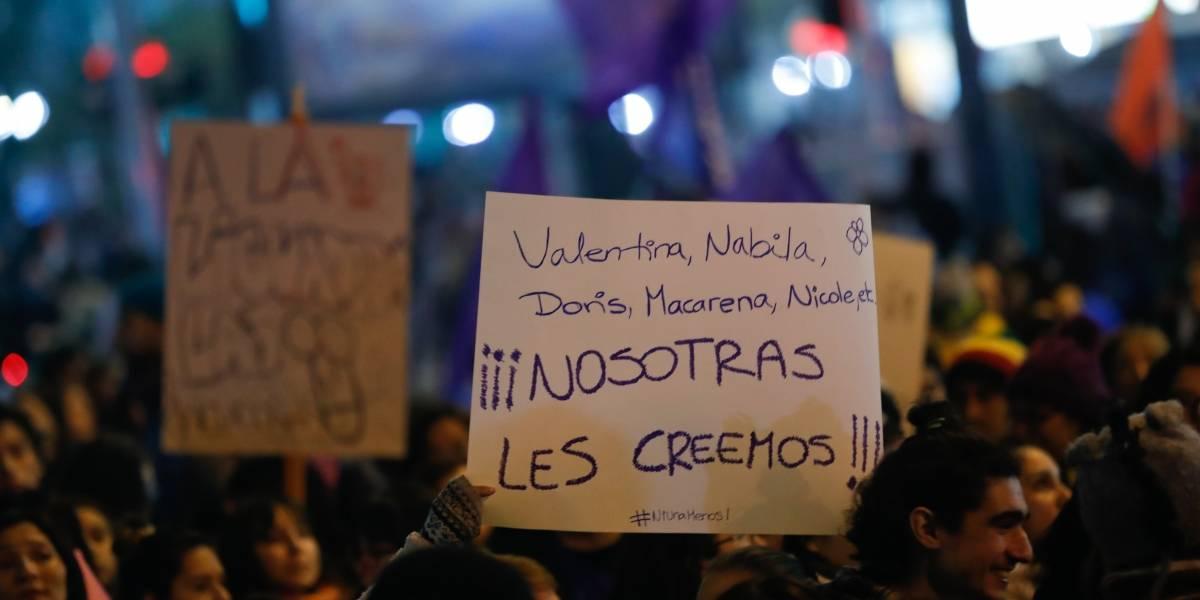 """Valentina Henríquez tras marcha #NiUnaMenos: """"Me siento empoderada, me siento apoyada y respaldada"""""""
