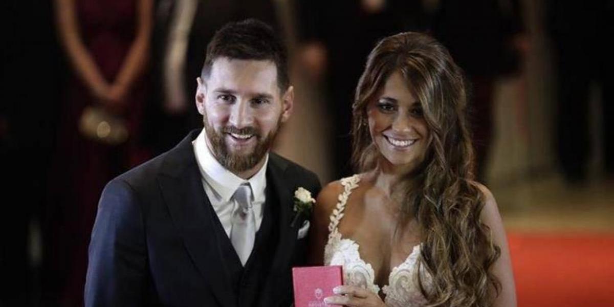 Messi dona alimentos de su boda a organizaciones benéficas