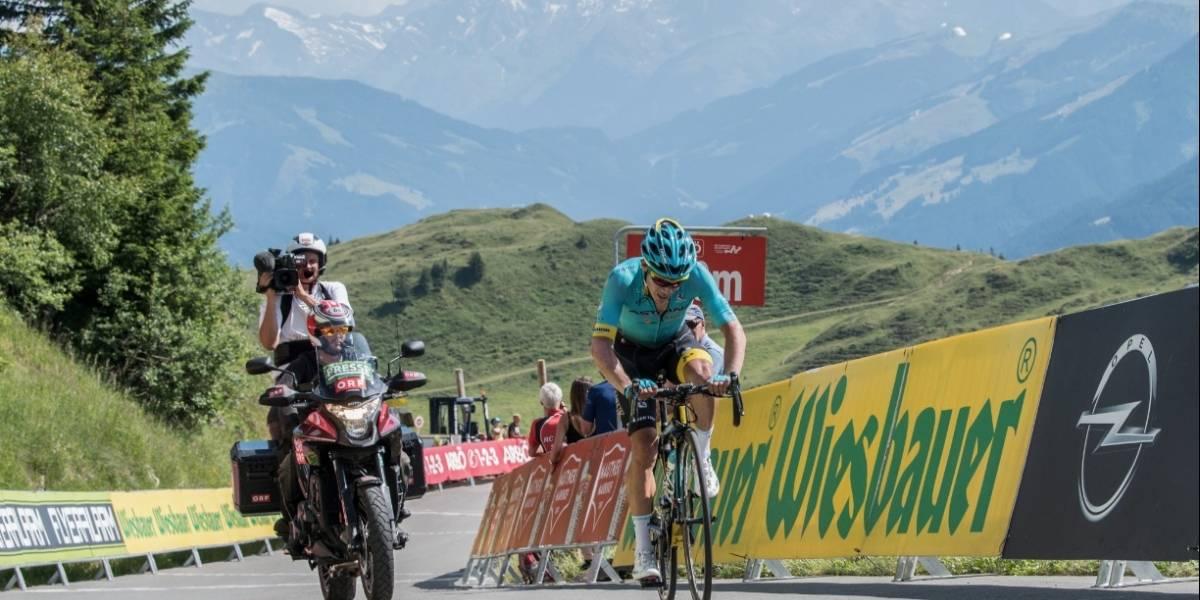 Miguel Ángel López ganó la etapa reina de la Vuelta a Austria