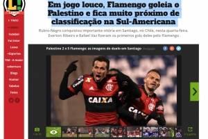 El loco partido en San Carlos de Apoquindo entre Palestino y Flamengo