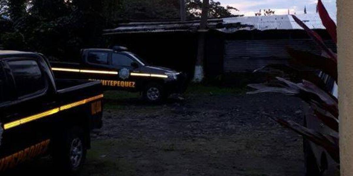 Cinco detenidos, incluidos agentes de PNC, tras confuso incidente en Escuintla