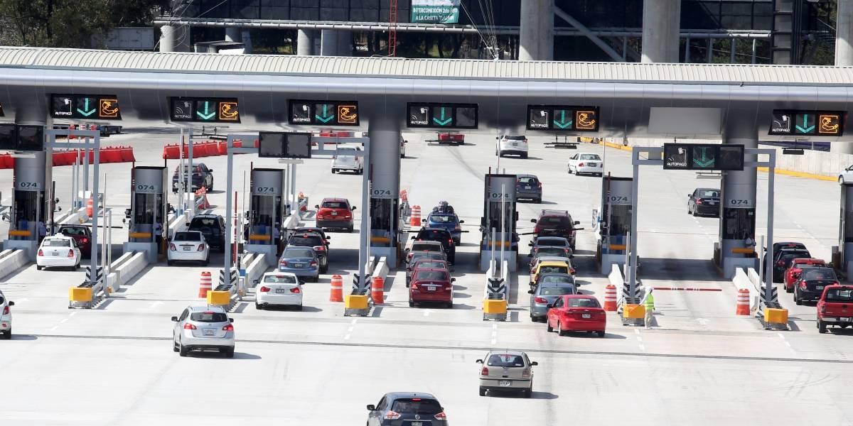 Registran autopistas gran aforo por salida de vacacionistas en la CDMX