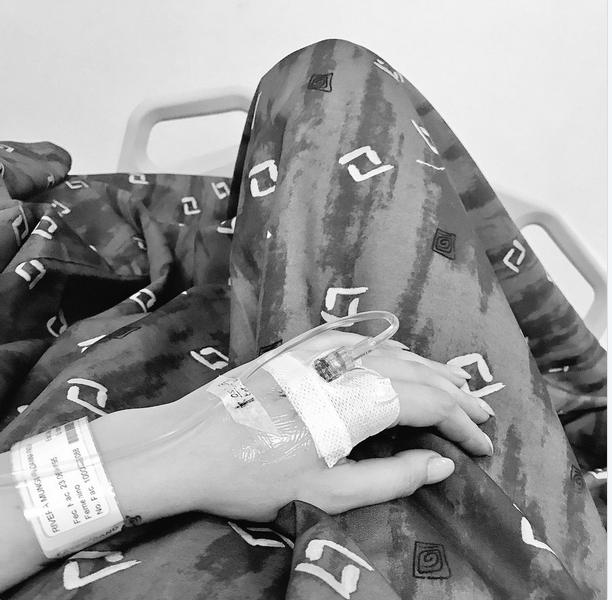 Danna Paola ingresa al hospital