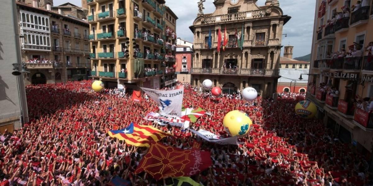 FOTOS. Pamplona inaugura las fiestas taurinas de San Fermín