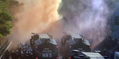 Manifestaciones en Hamburgo por el G20